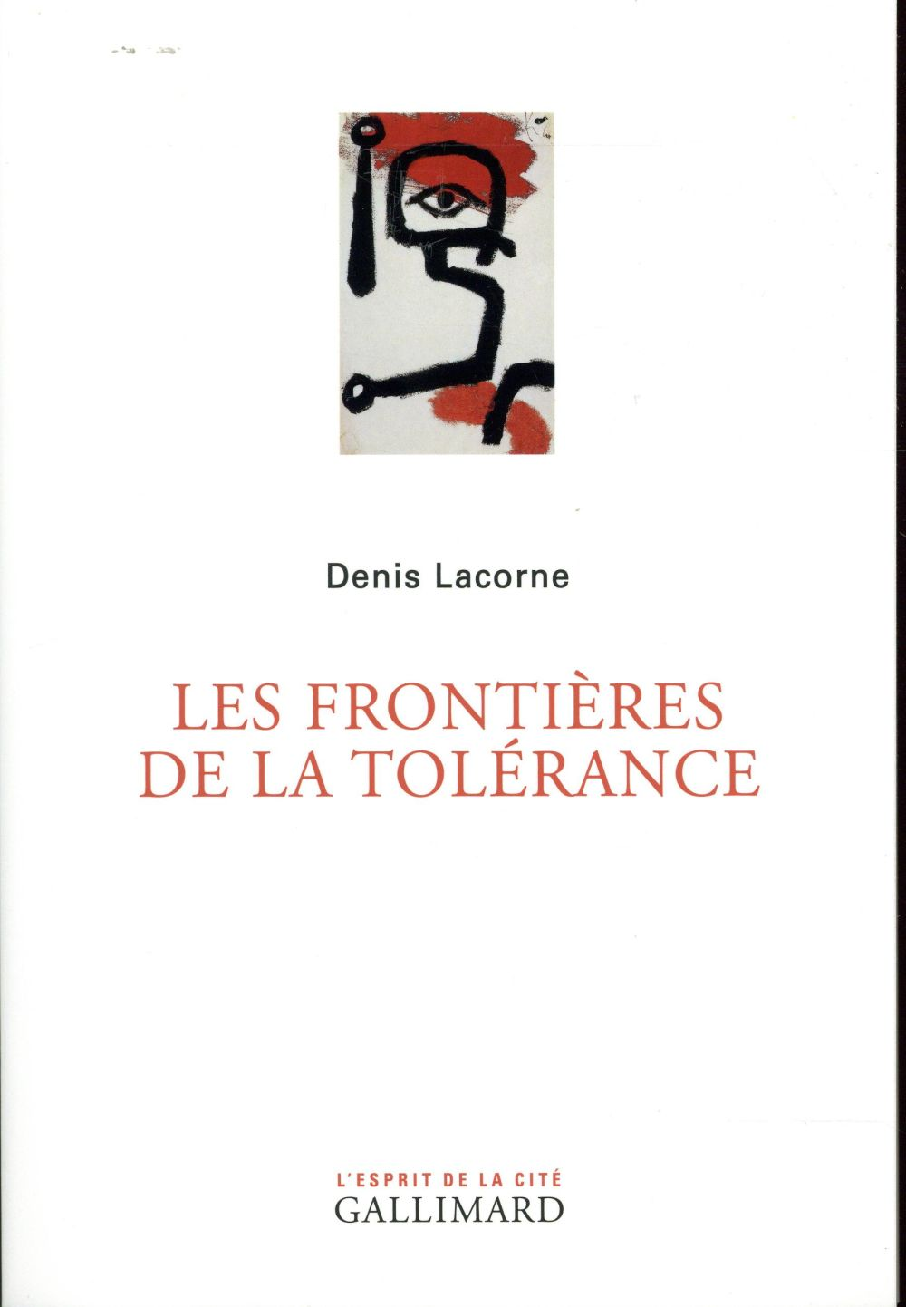 LES FRONTIERES DE LA TOLERANCE
